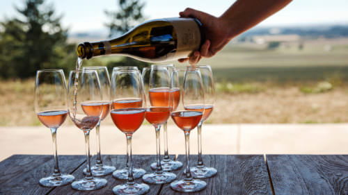 Soter Vineyards makes a delightful brut rose that pairs perfectly with oysters. (Photo credit: Brown W. Cannon III)