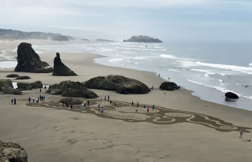 Try to time the trip with Circles in the Sand, when artists trace an elaborate labyrinth along the shoreline.