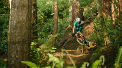 Pick your adventure level between nine trails with 6-mile, 7-mile and 11-mile routes.