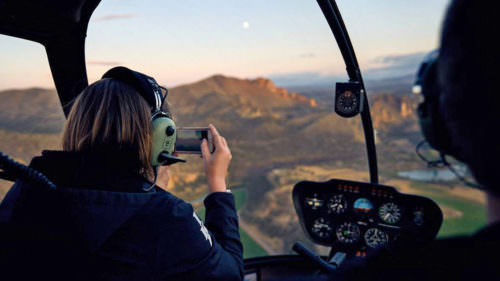 Take a sasquatch-scouting helicopter over the iconic natural landmarks in Central Oregon. (Photo credit: Big Mountain Heli Tours)