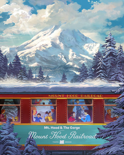 Mount Hood Railroad poster