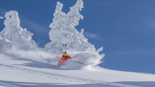 Matthias Giraud by Mt. Bachelor Ski Resort