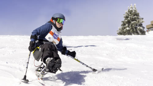 Oregon Adaptive Sports provides ski lessons and equipment for all skill levels and abilities. (Photo credit: OAS)