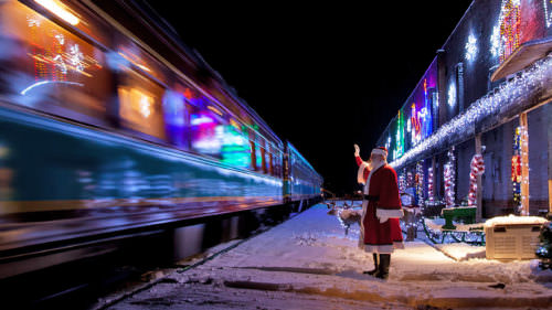 Mount Hood Railroad's Train to Christmas Town