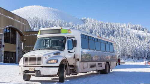 Mt. Bachelor Shuttle.