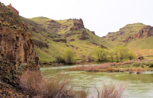 Owyhee River by Dawn Talbott