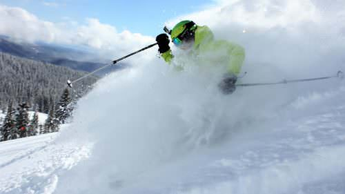 Incredible powder on February 20 at Mt. Hood Meadows. (Photo courtesy Grant Myrdal/Mt. Hood Meadows)