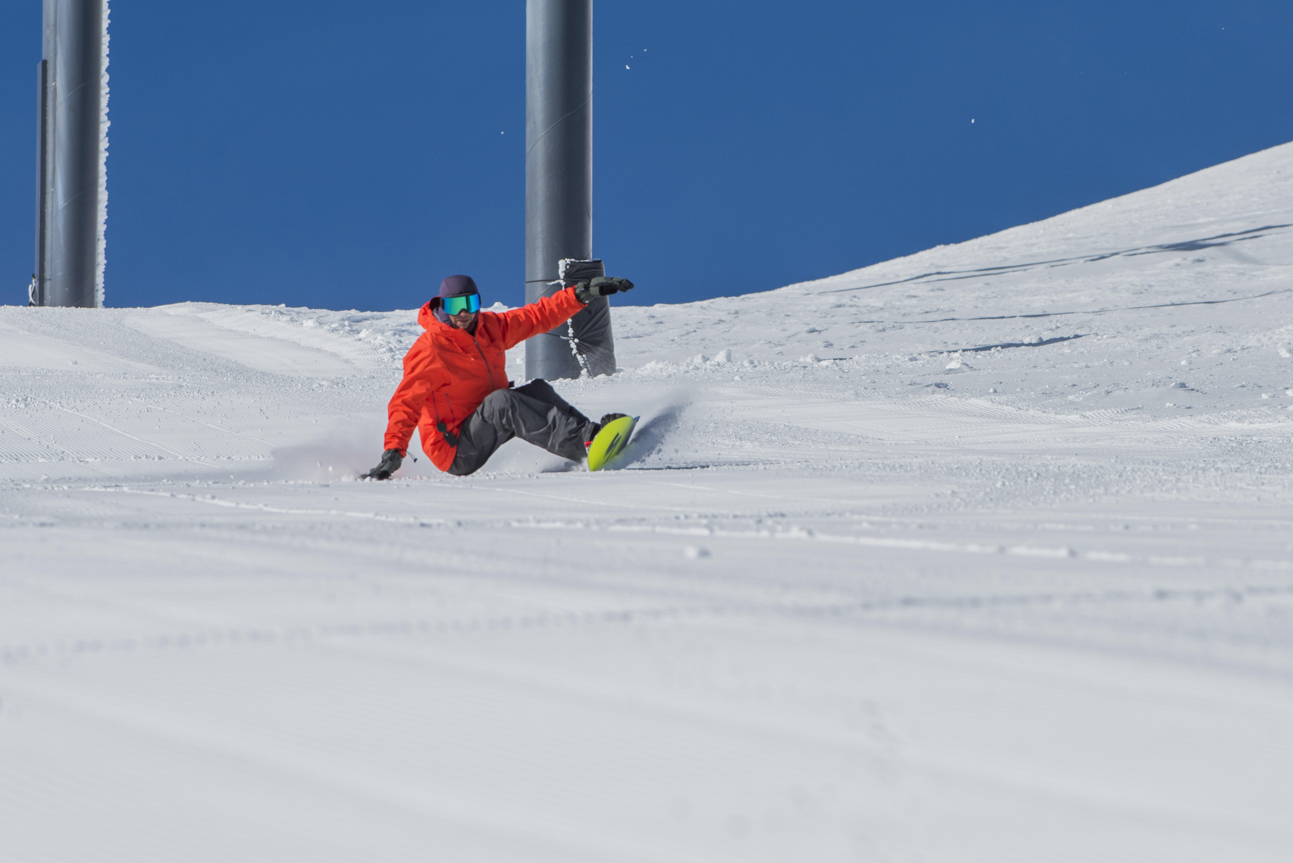 7ef449df408 Josh Dirksen snowboards Mt. Bachelor. Photo  Anelise Bergin