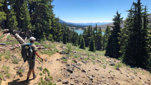The Green Lakes Trail is one of the most popular in the Three Sisters Wilderness.