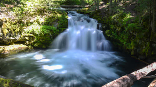 Whitehorse Falls by Felix Lipov / Alamy Stock Photo