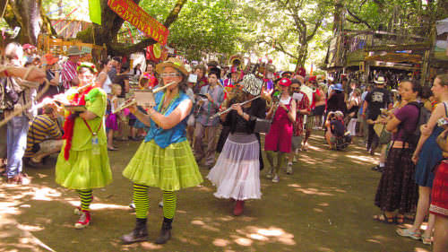 Oregon Country Fair by Robbie McClaran