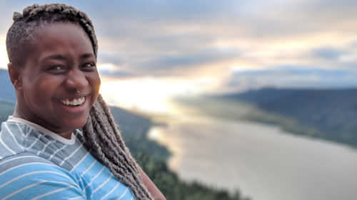 Mercy M'fon Shammah is founder of the nonprofit Wild Diversity, which works to increase and promote inclusivity in the outdoors.