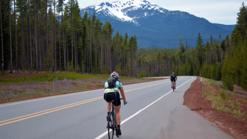 Ride to Diamond Lake and Crater Lake on the Cycle Oregon Classic. (Photo credit: Cycle Oregon)