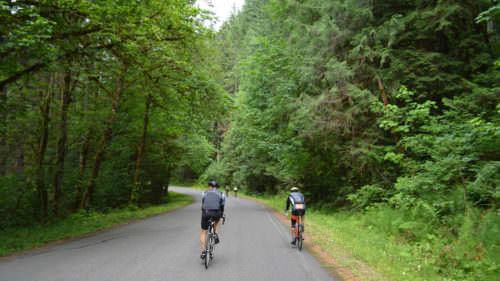 Oakridge is nestled in the foothills of the Cascade Mountains. (Photo credit: Cycle Oregon)