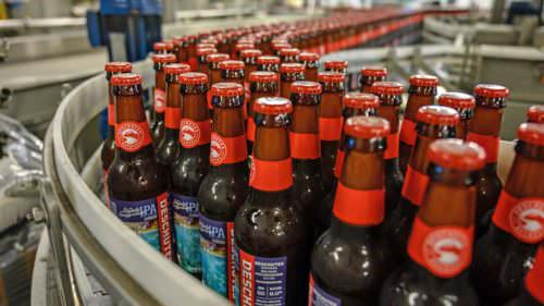 The Only Slightly Exaggerated IPA is now bottled for the public.