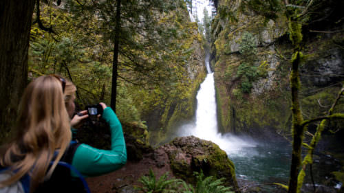 Wahclella Falls (Photo by: Bennett Barthelemy / Tandem Stock)