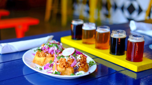 Beer and food go hand in hand here; look for Xicha's annual beer-pairing dinners.