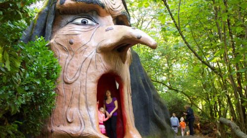 An Oregon icon since 1971, this family-owned theme park is full of classic rides for young and old. (Photo by Enchanted Forest)