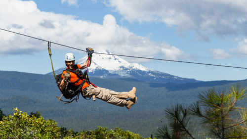 Gaze upon the rim of Crater Lake and other iconic peaks as you soar through the trees with Crater Lake ZipLine, then cap the day with a guided kayak tour.