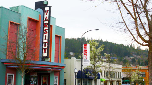 More than 7,000 film lovers fill this theater for the Ashland Independent Film Festival.