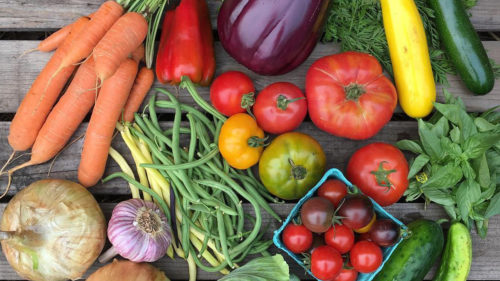 Wildwood Farm in Hood River delivers fresh produce with recipes posted for inspiration. (Photo by Wildwood Farm)