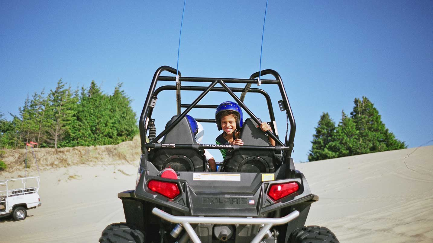 Four-wheeling in the Oregon Dunes is a popular activity for locals and visitors alike.
