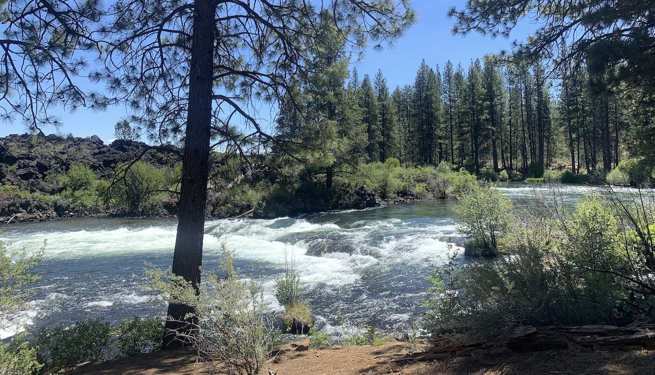 The Big Eddy is actually name for the calm spot above the rapids.