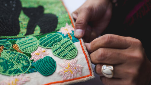 WildCraft creates a platform for Native people to share their beadwork and other skills, cultures and traditions in ways that empower them.