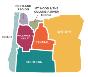 Oregon Map Regions