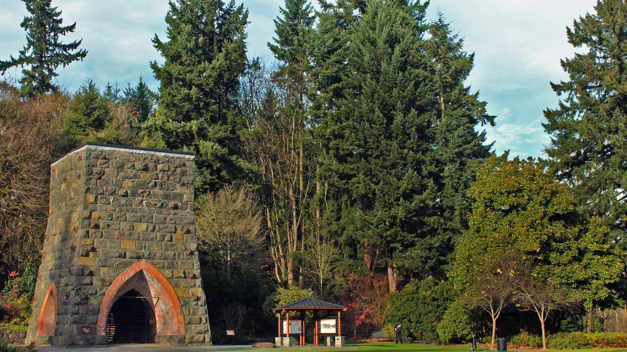 Iron furnace at George Rogers Park