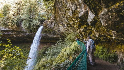 The Trail of Ten Falls is the most popular attraction at Silver Falls State Park, but the park offers more than 35 miles of trails in all. (Photo by Taylor Higgins)