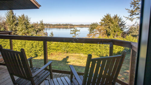 Families will find many styles of rooms at Salishan. Enjoy views of Siletz Bay or the lush, green Salishan Golf Links.